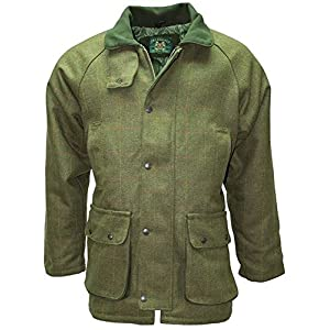 51pA9VZK8IL. SS300  - New Mens Derby Tweed Jacket Coat outdoor breathable quilted waterproof coat fishing hunting shooting farming mens wool branded outdoorwear outerwear
