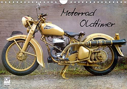 Motorrad Oldtimer (Wandkalender 2020 DIN A4 quer)