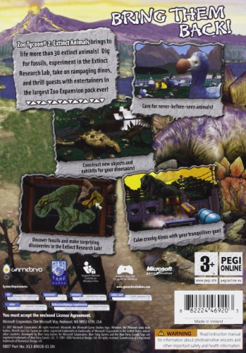 Zoo Tycoon 2: Extinct Animals Expansion Pack (PC) [Edizione