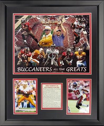 Legends Never Die Tampa Bay Buccaneers - Buccaneers Greats Framed Photo Collage, 16