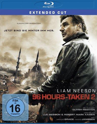 96 Hours - Taken 2 - Extended Cut [Blu-ray]