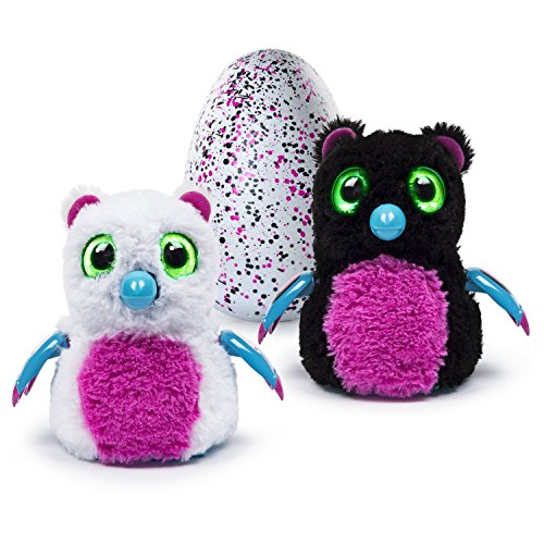 Hatchimals blanco y negro