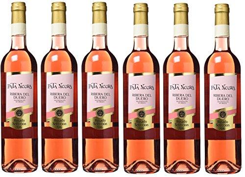Pata Negra Rosado Selección D.O Ribera Del Duero - 6 Botellas X 750 Ml - Total: 4500 Ml