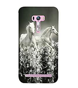 RIDING HORSE Designer Back Case Cover for Asus Zenfone Selfie::Asus Zenfone Selfie ZD551KL