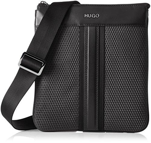HUGO Future_z Env 10197708 01, Sacs portés épaule Noir (Black)