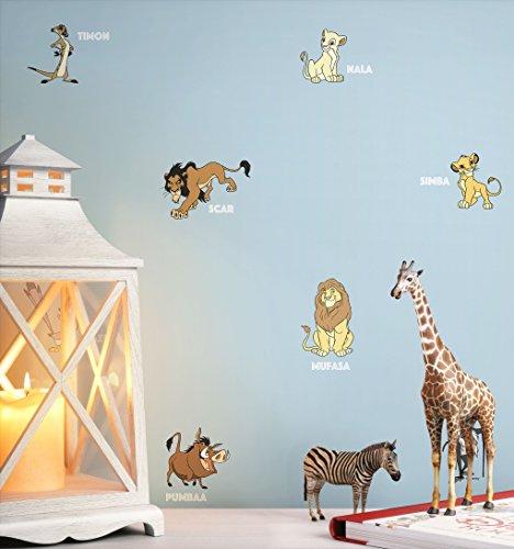 NEWROOM Kindertapete Blau Disney Kinder Papiertapete Gelb Papier Kindertapete Babytapete Babyzimmer - Tapete, Kinder, Disney Mädchen,
