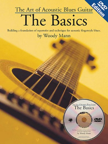 Woody Mann - Art of Acoustic Blues Guitar [Pap/DVD] [Import anglais]