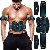 Duang Electroestimulador Muscular Abdominales AbS Muscle Stimulator USB Recargable Ultimate Stimulator 10PCS Gel Training Pad
