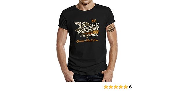 GASOLINE BANDIT Biker Racer T-shirt original Victory Racing Team