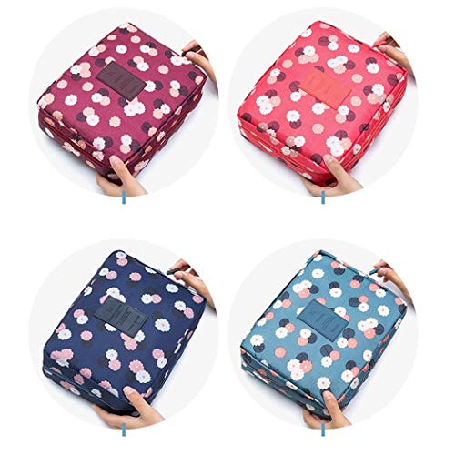 Voiks Portable Travel Toiletry Bags, Waterproof Travel Cosmetic Makeup Bag, Travel Toiletry...