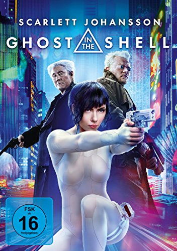 Ghost in the Shell (Scarlett-der Film Dvd)