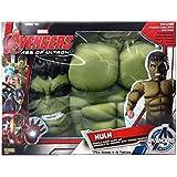 Avengers - Pecho musculoso y máscara de Hulk Age of Ultron, para niños (Rubie's 31481)