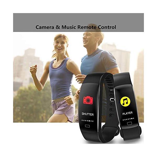WitMoving Fitness Trackers IP68 - Reloj de Pulsera de Actividad con Contador de calorías y Pasos, podómetro, para niños… 6