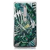 CASEiLIKE® Custodia Nokia 6 (2018) Cover, Palma Tropicale 2238 Disegno Ultra Sottile Paraurti TPU Caso Silicone per Nokia 6 (2018)