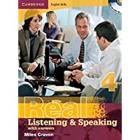 Real 4 Listening and Speaking with Answers + CD [Lingua inglese]