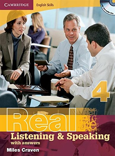 Cambridge English Skills Real Listening and Speaking 4 with Answers and Audio CD: Level 4