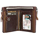 Kinvac RFID Blocking Wallets for Men,Credit Card Holder and Coin Pocket with Interror