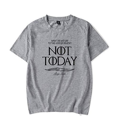 5c1de4a7b Novedad ¿QUÉ DIGIMOS AL Dios DE LA Muerte NO Hoy? Camiseta Casual de Manga