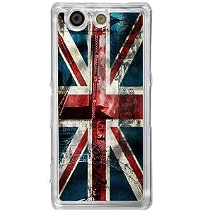 Casotec London Flag wallpaper Design 2D Hard Back Case Cover for Sony Xperia Z4 Mini