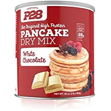 P28 Foods The Original High Protein Pancake Dry Mix, White Chocolate, 16 Ounce by P28 Foods