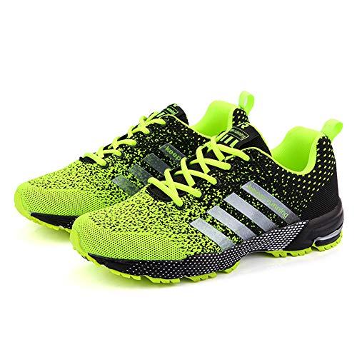 Scarpe Uomo Casual Sneakers,Scarpe da Ginnastica Casual Comode Adatto per La Corsa all'Allenamento Sportivo Scarpe da Tennis Traspiranti