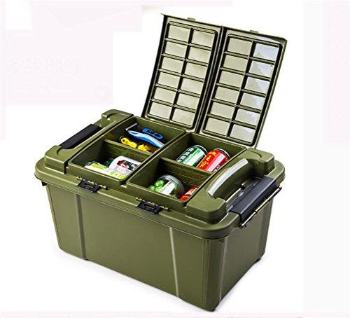 RUIRUI scatola di immagazzinaggio box auto di storage box tronco box auto di finitura portaoggetti auto scomparto portaoggetti , green
