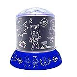 PJ Mask Luz de Noche, quitamiedos de los Pijamasks (NL030PJM) PJ Masks, Color Azul (Lexibook NLJ030PJM)