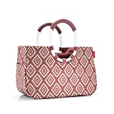 Reisenthel loopshopper M Strandtasche, 40 cm, 12 L, Diamonds Rouge