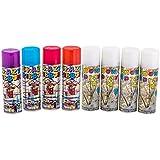 Enjoy Party Snow Spray & Ribbon Spray Combo (Set of 8)