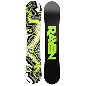 Raven Snowboard Core Carbon Rocker