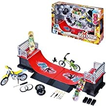 COFFRET MINI SKATE HALF PIPE by Logitoys