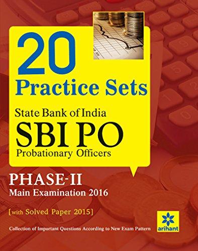 SBI PO Examination 20 Practice Sets