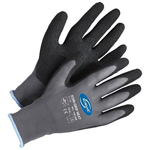 Forsthandschuhe Montagehandschuhe Handschuhe Kori-Grip - Größe 9 - grau/schwarz