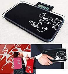 Ultra Mini Portable Digital Personal Weight Scale 180kg / 396lb Super Slim Weighing Health Scale Kitchen Scale