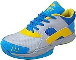 Port Womens Pu Popie Badminton Sports Shoe (11 IND/UK)