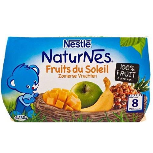 Nestle NaturNes Sommer-Früchte (8 Monate) 4 x 130 g