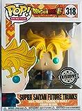 Funko Pop Dragon Ball Future Trunks Super Sayan Exclusive, Multicolor (24814)