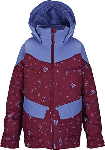 Giacca da snowboard Burton giacca da ragazza Girls Lola, Peace Sngria Pk Blc, L, 15032100525