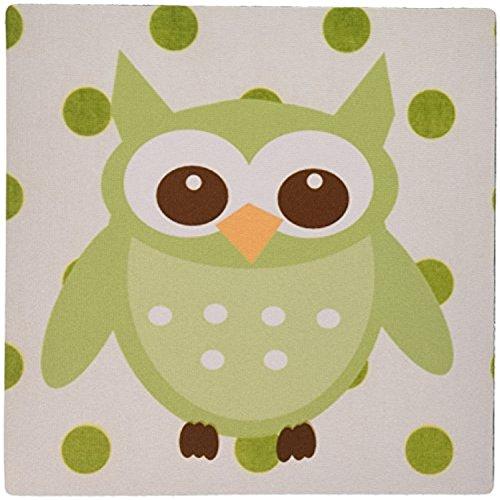 fongakde-9-x-7-x-025-inches-mouse-pad-cute-minty-green-owl-on-green-n-white-polka-dots-mp-123281-1