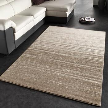 Teppich Sandfarben amazon de designer teppich modern cambridge in beige größe 160x230 cm