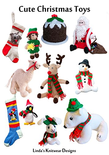 Cute Christmas Toys Knit Presents Ebook
