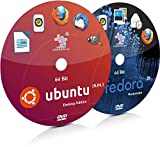 Ubuntu 18.04.1 GNOME and Fedora 28 GNOME 64 Bit Live Bootable Installation DVD