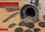Römische Münzen - Spiegel der Vergangenheit (Wandkalender 2019 DIN A2 quer): Zeitreise in die Antike - 12 spannende Fotografien von römischen Münzen (Monatskalender, 14 Seiten ) (CALVENDO Kunst)