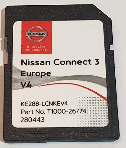 SD Karte GPS Europe 2019 v4 - Nissan Connect 3 LCN2 - (Q1.2018)