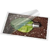 Makro Paper 325220 - Plástico para plastificar folio, caja con 100 unidades, 325 x