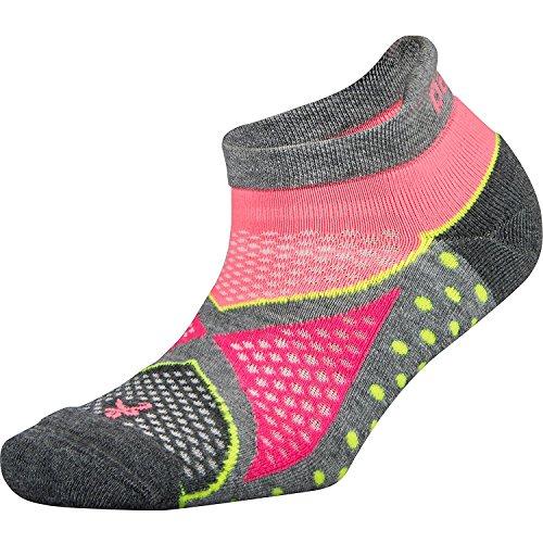 Balega Enduro V-Tech No-Show Sock Midgrey/Sherbet Pink Small Preisvergleich