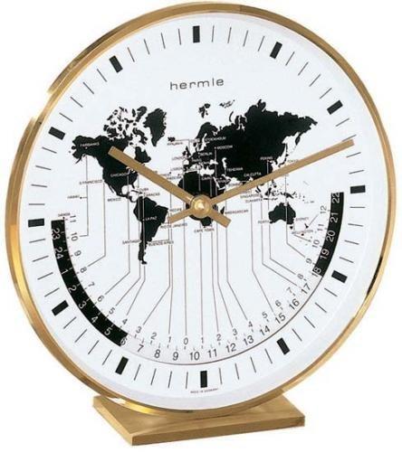 Hermle Buffalo I Table Clock Sku# 22704002100 by Hermle