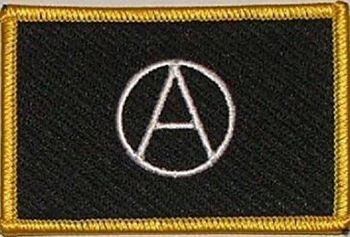 U24toppa Anarchy anarchia Aufbügler Patch