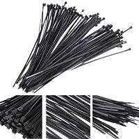MaMaison007 Cinghia di 100pcs plastica Nylon cavo legami Zip Wire Wrap