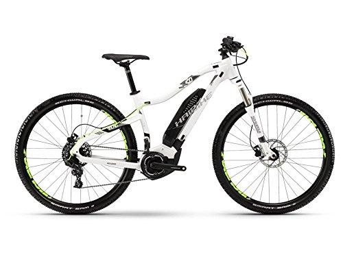 Haibike SDURO HardNine 2.0 E-Bike 400Wh E-Mountainbike weiß/schwarz/titan